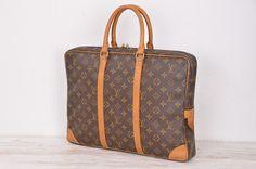 Louis Vuitton Monogram Porte Documents Voyage Business Bag M40226