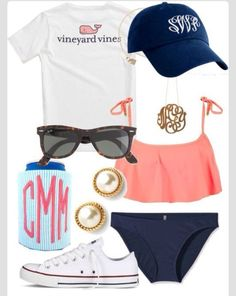 Vineyard Vines! <3 not sure who where's a bathing suit with chucks, but whatever;)