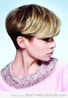 ... on Pinterest | Short Haircuts, Wedge Haircut and Short Wedge Haircut
