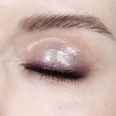 PAT McGrath Labs 'Holographic cyber clear eye gloss' eye makeup look from Katie Jane Hughes | From the Dark Star 006 eyeshadow makeup kit | SHOP the look at www.PatMcGrath.com #DarkStar006 #PMGLabLove #EyeGloss