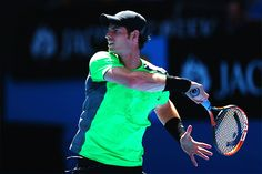 Andy Murray at the Australian Open 2015