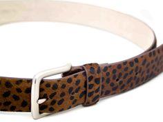 Get stylish with cheetah hip belt