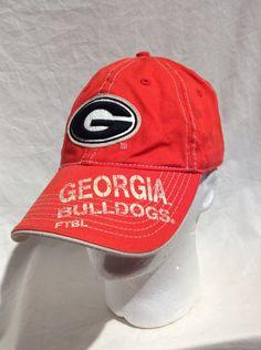 ed2f11e633b Georgia Bulldogs football ftbl Adjustable hat signature series UGA Cap game  day  DREWPEARSONMARKETINGINC  BaseballCap