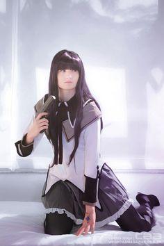 Akemi Homura | MADOKA MAGICA cosplayer MoVampie | photo by CAA / ronaldo ichi & valesca braga - www.caamagazine.com.br