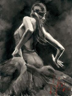dancer-in-red-ink-study-fabian-perez-giclee-on-paper-14411-0-1348711629000.jpg (326×435)