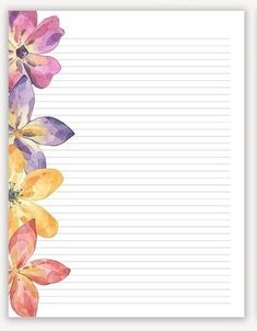 Printable Lined Paper, Free Printable Stationery, Scrapbook, Instagram Blog, Notebook Design, Stationery Paper, Planner Template, Writing Paper, Note Paper