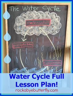 Rockabye Butterfly: The Water Cycle Lesson Plan