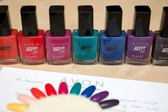 """avon gel finish nail enamel 2013 