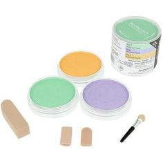 """NEW from Pan Pastels...their NEW """"Secondary Pearlecsent"""" colors that add yummy shimmer without a glittery look!  Just click to shop online or visit our retail store!"""