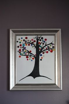 I'm going to try making something like this Button Tree.  Wish me luck!