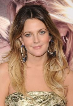 15 Reasons You Should Consider Getting Ombre Hair Color: Drew Barrymore With Ombre Hair