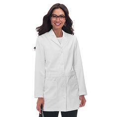 Koi Happiness Scrubs Women's Victoria Lab Coat