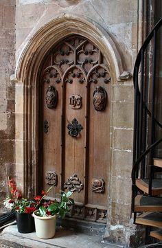 Church Door - Norfolk, England