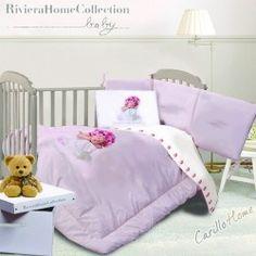 Lenzuola lettino Digit Buona Notte Fiorellino  #CarilloHome #mondobaby #baby www.carillohome.com #love #style #Idearegalo #idea #regalo #buonanotte