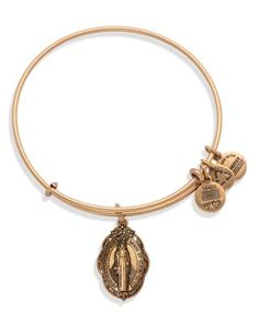 Alex and Ani Mother Mary Expandable Wire Bangle | Bloomingdale's
