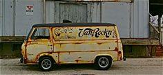 693 × 318 pixel Source by srcutforth Van Signs, Gmc Vans, Old Pickup Trucks, Chevy Trucks, Old School Vans, Vanz, Panel Truck, Car Trailer, Cool Vans