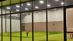 An Indoor Practice Facility Can Help Keep Your Game Hot in Winter New Golf Clubs, Golf Club Sets, Golf Aids, Golf Putting Green, Golf Room, Trendy Golf, Indoor Range, Golf Practice, Outdoor Workouts