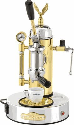 how to use elektra espresso machine