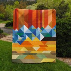 (7) Name: 'Quilting : Welcome to Colorful Colorado saw this at the AQS show in Des Moines and LOVED it!!