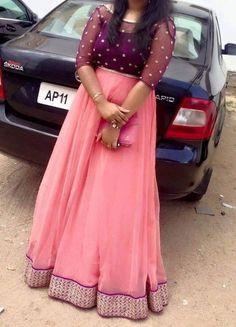 Party Wear Maxi Dresses, Party Wear Indian Dresses, Indian Gowns Dresses, Long Gown Dress, Lehnga Dress, Long Frock, Lehenga, Kids Blouse Designs, Blouse Neck Designs