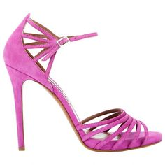 Pre-owned Tabitha Simmons Sandals ($304) ❤ liked on Polyvore featuring shoes, sandals, purple, women shoes sandals, pre owned shoes, tabitha simmons sandals, purple sandals, purple shoes and tabitha simmons
