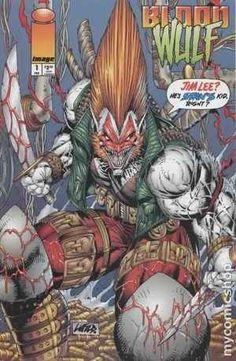 Bloodwulf comic book