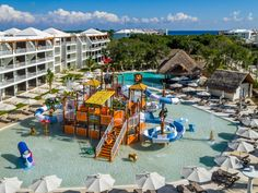 WaterPlay Structure Hotel Ocean Riviera Paradise by H10. Playa del Carmen - Hidroingenia