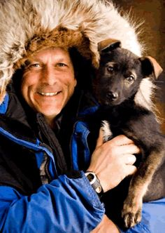 Martin Buser - champion musher and nice person.   I'll never forget the day I saw him at a book fair -- sitting in a rocking chair reading to young children!