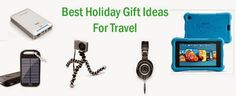 Best Holiday Tech Gifts Ideas for Travel |Travel Tech Gadgets