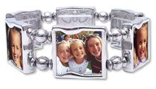 memory makers photo jewelry - I made one with my family photos - it was easy. I love it.