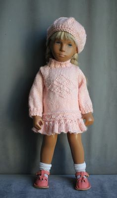 Sasha Doll Style: Sasha Doll Pattern - Hat and Mitten ...