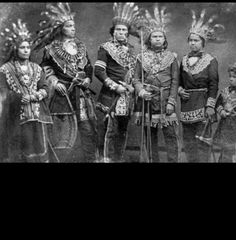 Five ojibwe Chiefs in the 19th century. Anishinaabe (or Anishinaabeg, which is the plural form of the word) is the autonym often used by the Odawa, Ojibwa, and Algonquin First Nations in Ontario. They all speak closely related Anishinaabemowin-Anishinaabe languages, of the Algonquian language family.