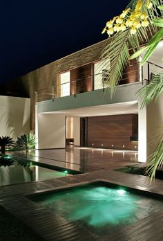SF House in Londrina, Brazil by Studio Guilherme Torres. 100s of Different Patio & Pool Design Ideas. http://www.pinterest.com/njestates1/pool-patio-design-ideas/ Thanks To http://www.njestates.net/real-estate/nj/listings