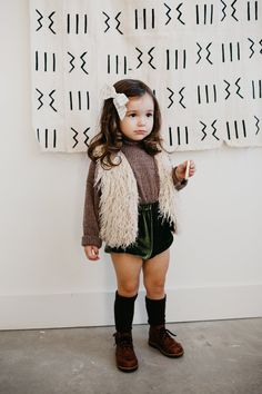 the Velvet Bloomers in Green #KidsFashionSwag