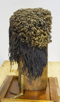 Ancient Egyptian wig made from real hair
