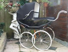 Antique Baby Carriages!! I so need one of these for my doll collection!