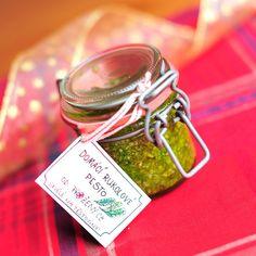 Rukolové pesto: se slunečnicovými semínky a za minutu hotové Homeade Gifts, Homemade, Korn, Arugula, Pesto, Food And Drink, Cooking, Kitchen, Essen