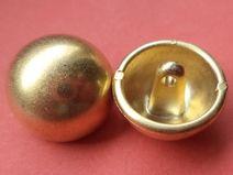 16 kleine KNÖPFE gold 16mm (5403) Blusenknöpfe
