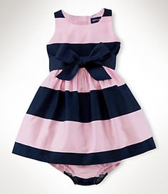 Ralph Lauren Childrenswear 9-24 Months Sateen Dress | Dillard's Mobile