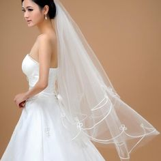 Find More Bridal Veils Information about Veu De Noiva Bridal Veil Ivory Double Layer Cut Edge Wedding Accessories Dress Velos De Novia,High Quality accessories christmas,China dresses for garden wedding Suppliers, Cheap dress for wedding reception from Lucky Godess Wedding Dress on Aliexpress.com