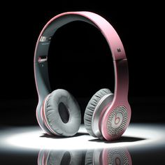 Beats By Dre Solo HD High Definition On-Ear Headphones Pink With Diamond $122.90