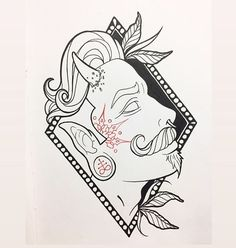 Search inspiration for a New School tattoo. Badass Tattoos, Tattoos For Guys, Sketch A Day, Neo Traditional Tattoo, Tattoo Studio, Sketching, Tattoo Artists, Jay, Portrait Photography