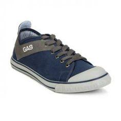 Gas Casual Shoes  Navy Blue    Islington