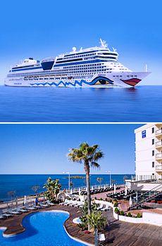 899 € -- 11 Tage AIDA & Hotel auf Mallorca mit Flug, -500 €