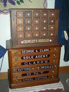 Vintage Thread Case