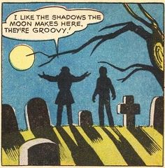 I like the shadows the moon makes here. They're groovy!