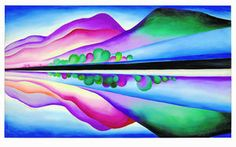 Unusual Georgia O'Keeffe painting going to auction - The Santa Fe ...