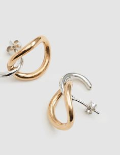 c2d964081 Inner Naho Hoop Earrings Charlotte Chesnais Inner Naho Hoop Earrings