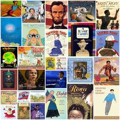 30 Picture Book Biographies and Other Children's Literature Book Lists. Literary Nonfiction, Elementary Library, Upper Elementary, Grades, 4th Grade Reading, Book Suggestions, Book Recommendations, Teaching Reading, Teaching Ideas