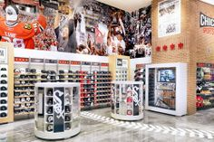 Chicago Sports Depot Interior Design
